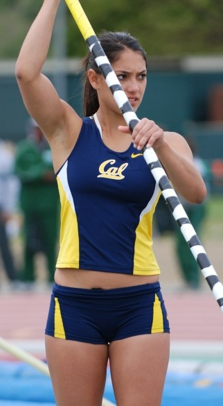 gratuitous pictures of allison stokke at cal