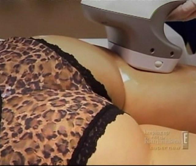 Kim Kardashian Tapes Burma Psa Gets Butt Massage